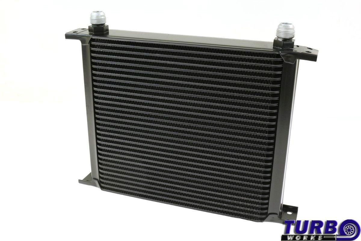 Olajhűtő TurboWorks 30-soros 260x235x50 AN10 Fekete